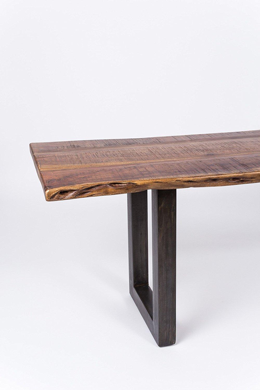 wolf m bel sitzbank massiv baumkante 180 200 cm nussbaum live edge. Black Bedroom Furniture Sets. Home Design Ideas