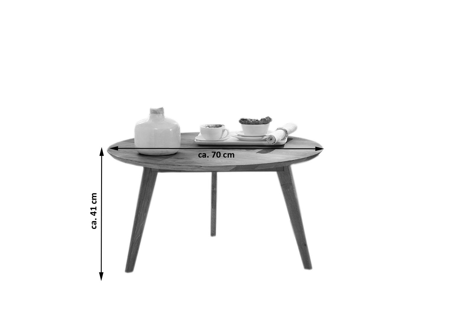 SALE Tisch Couchtisch Rund Kernbuche 70 Cm OLPE Auf Lager Itemprop