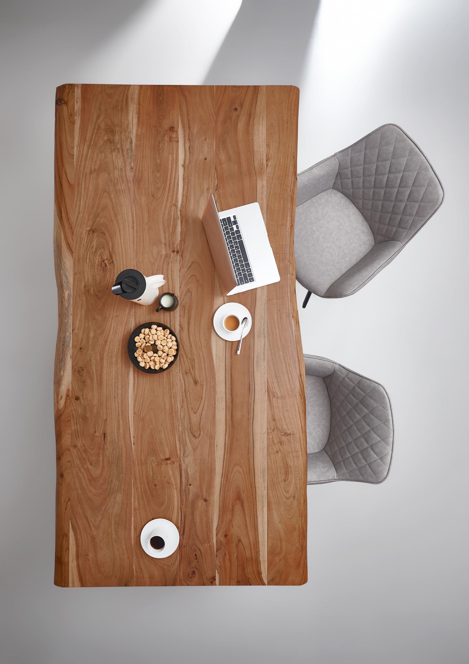Sam Baumkantentisch Esszimmer Tisch 200 Cm Massiv Akazie Milo
