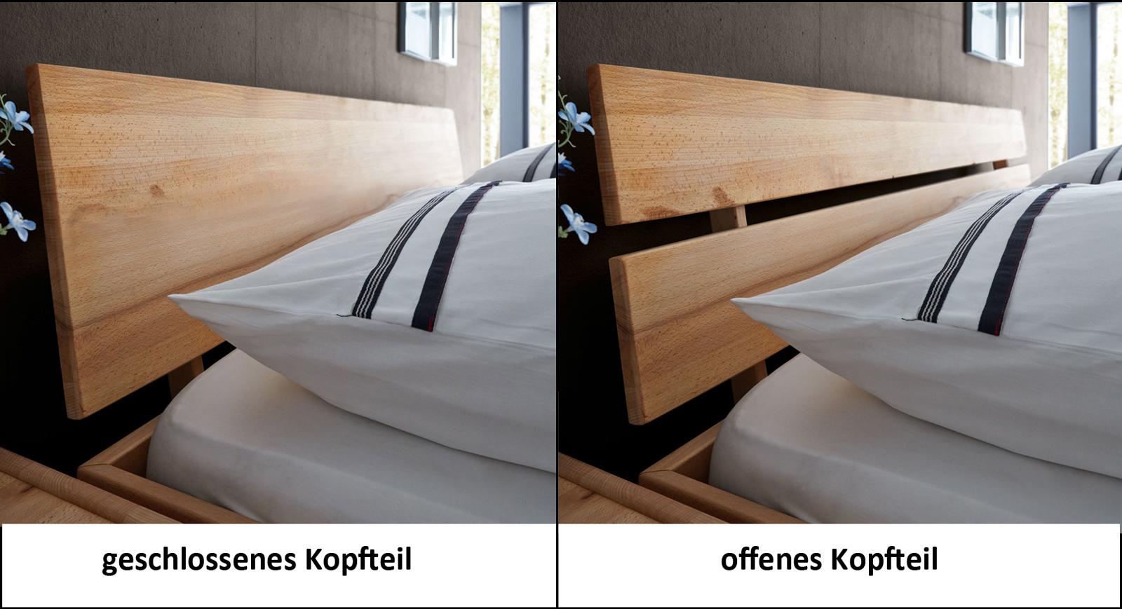 sam massivholzbett 140x200 cm kernbuche holzbett massiv. Black Bedroom Furniture Sets. Home Design Ideas