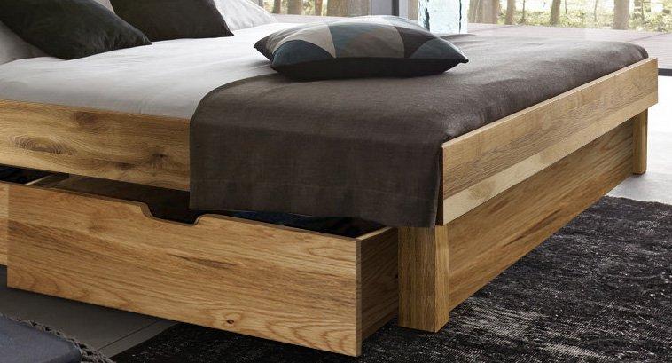 sam massivholzbett 180x200 wildeiche bettkasten holzbett campus demn chst. Black Bedroom Furniture Sets. Home Design Ideas