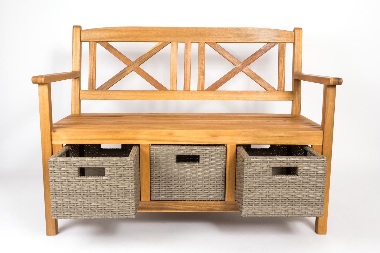 sam g nstige akazie gartenbank fsc 2 sitzer 120 cm elliott. Black Bedroom Furniture Sets. Home Design Ideas