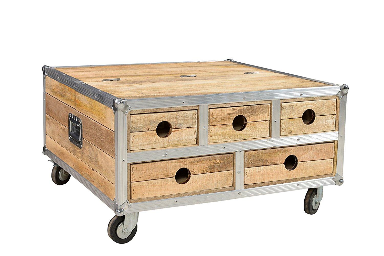 truhe mit schublade trendy tomcat big aluminium vintage. Black Bedroom Furniture Sets. Home Design Ideas