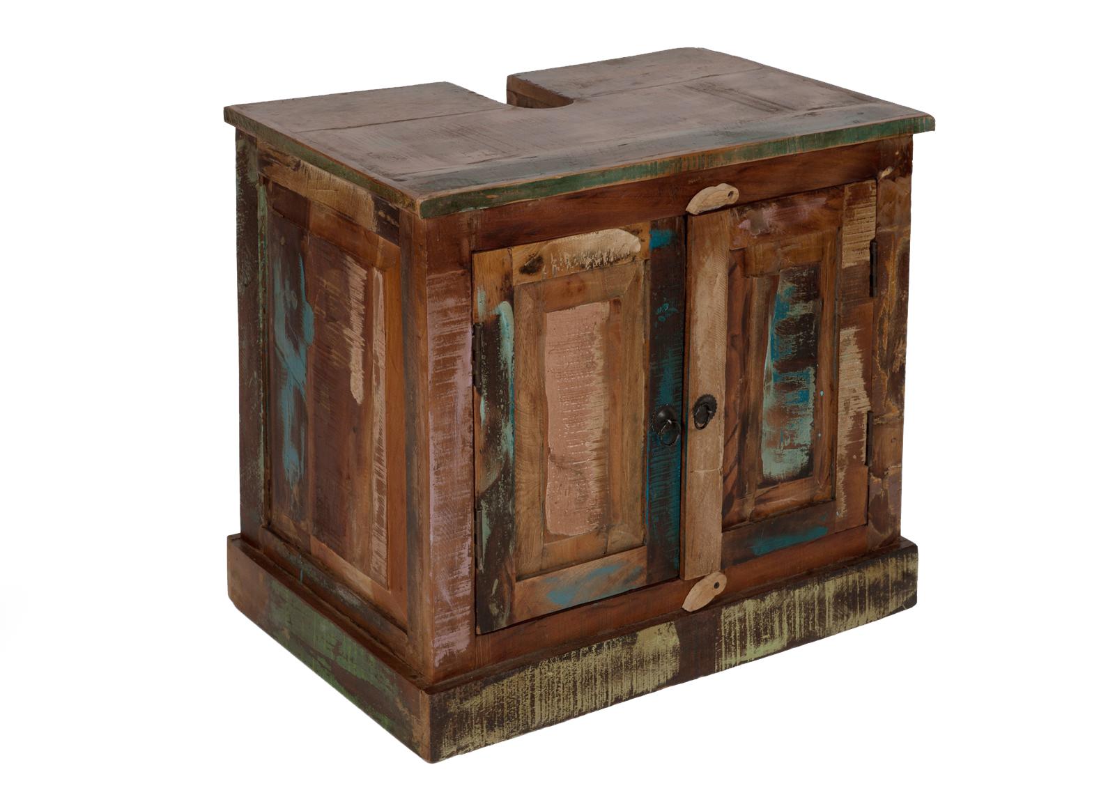 sam® badmöbel set 5tlg waschtisch 70 cm landhaus bunt riverboat, Badezimmer ideen
