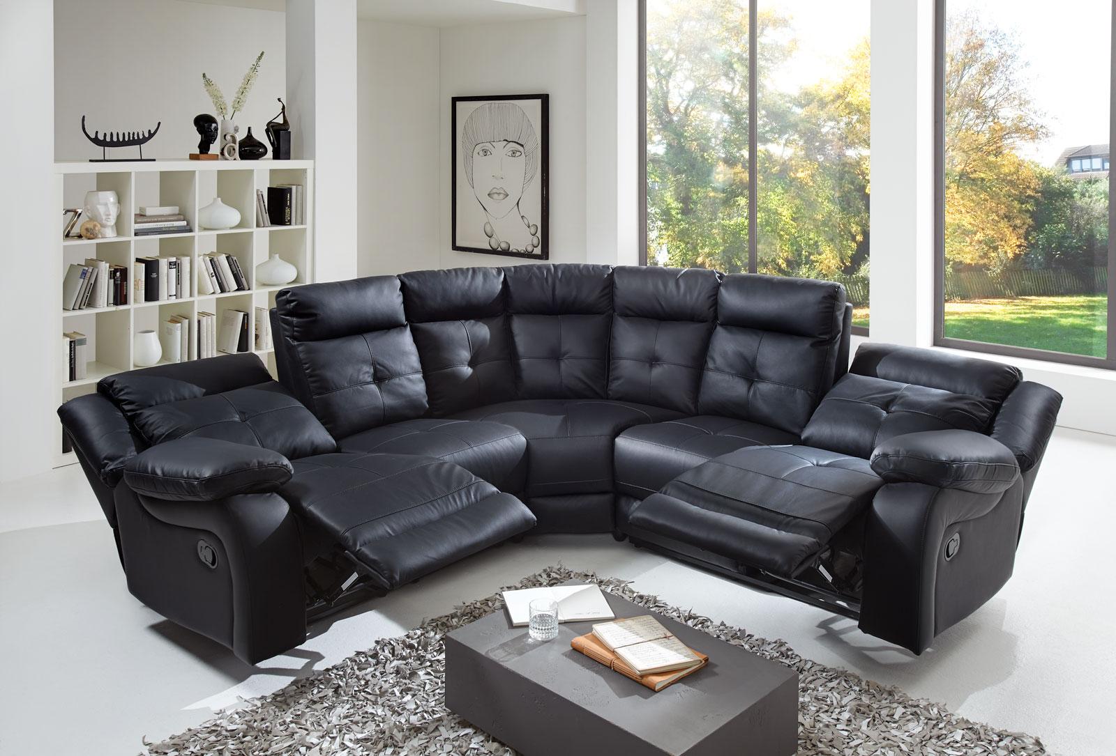 Ecksofa Relaxfunktion 5193 Made House Decor