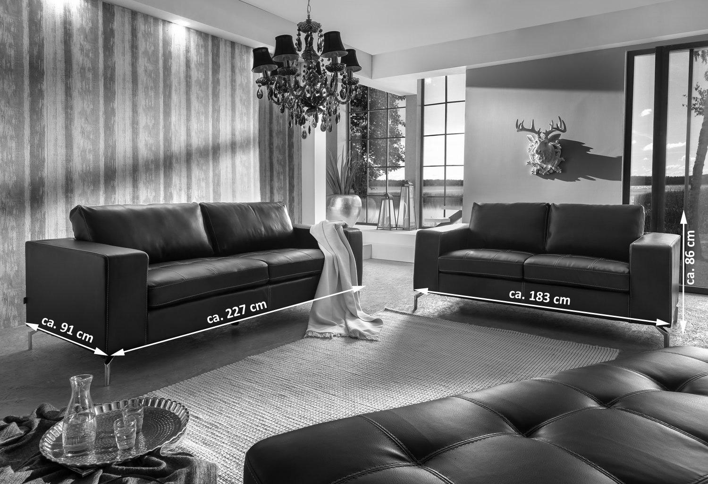 Sale wohnlandschaft couchgarnitur 2tlg sofa dunkelgrau belair for Couchgarnitur wohnlandschaft