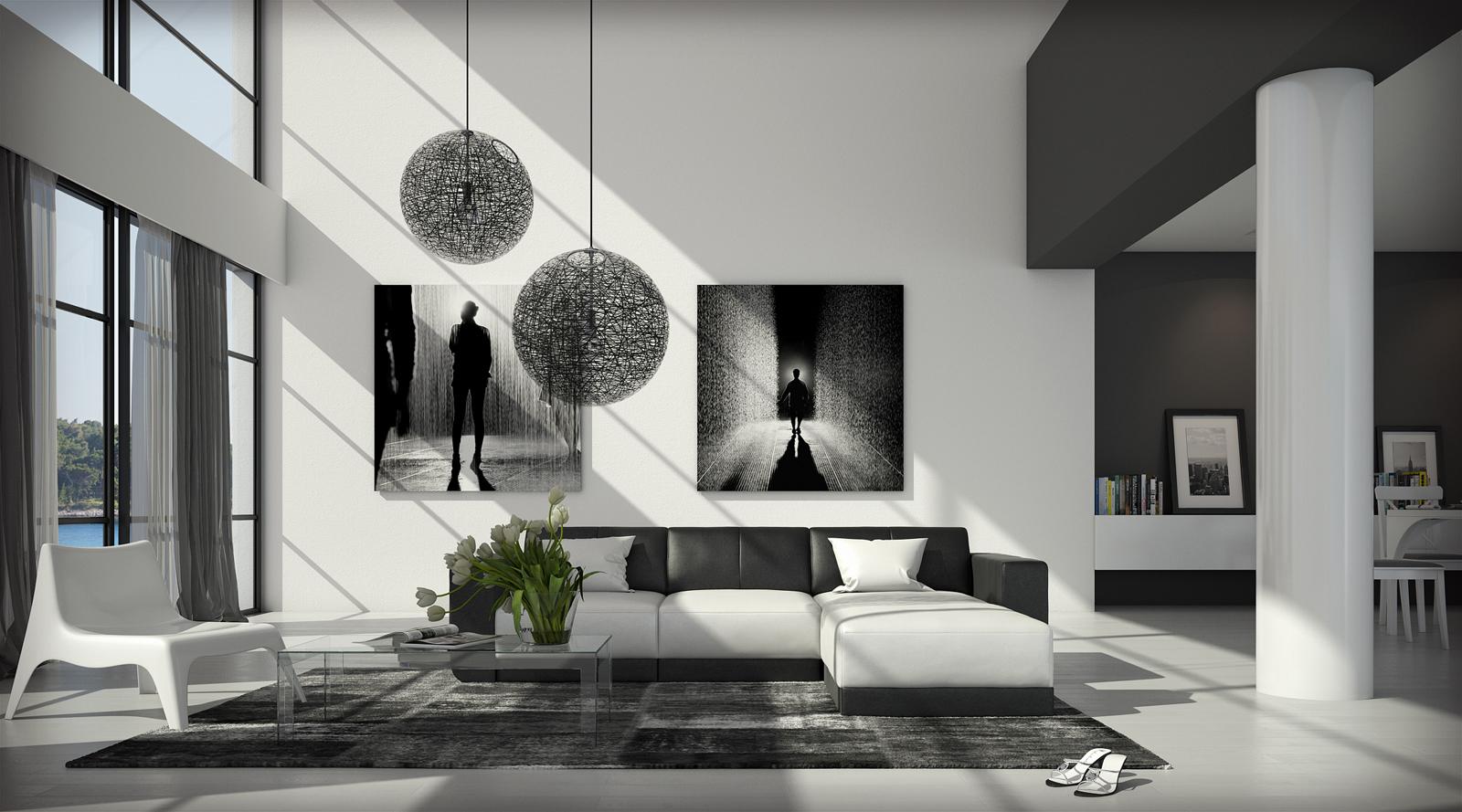 sale couch ecksofa polsterecke 260 x 200 cm wei schwarz fadrina. Black Bedroom Furniture Sets. Home Design Ideas
