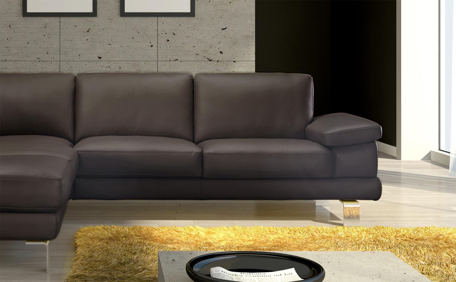 sale ecksofa braun polsterecke mezzo 220 x 270 cm. Black Bedroom Furniture Sets. Home Design Ideas