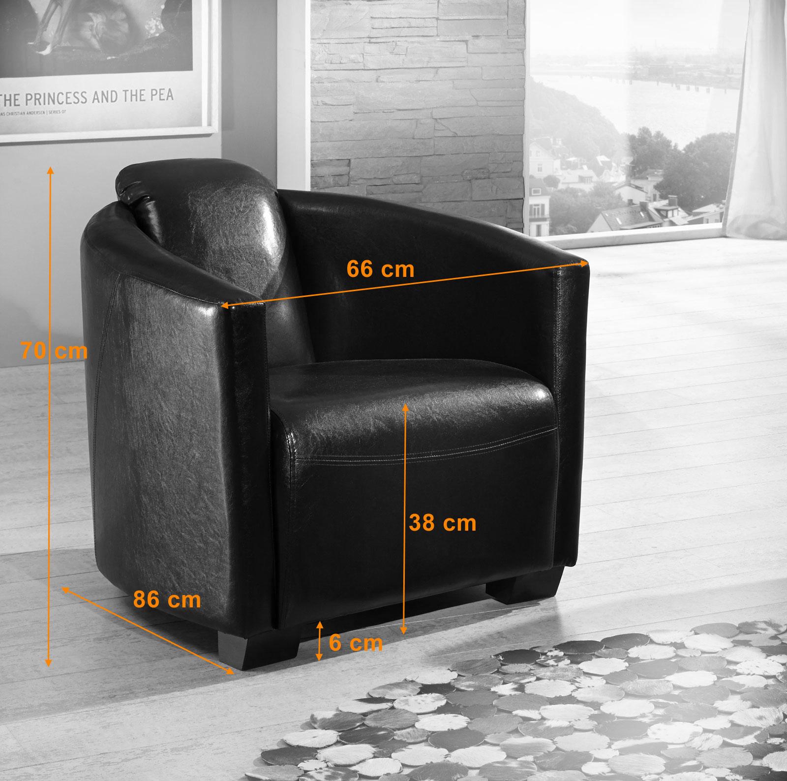 sam design wohnzimmersessel braun kuba bestellware. Black Bedroom Furniture Sets. Home Design Ideas