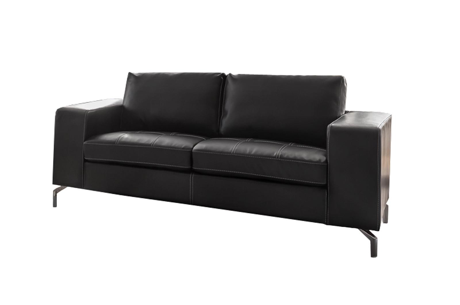 Sale Couch 2 Sitzer Sofa Dunkelgrau Belair Günstig