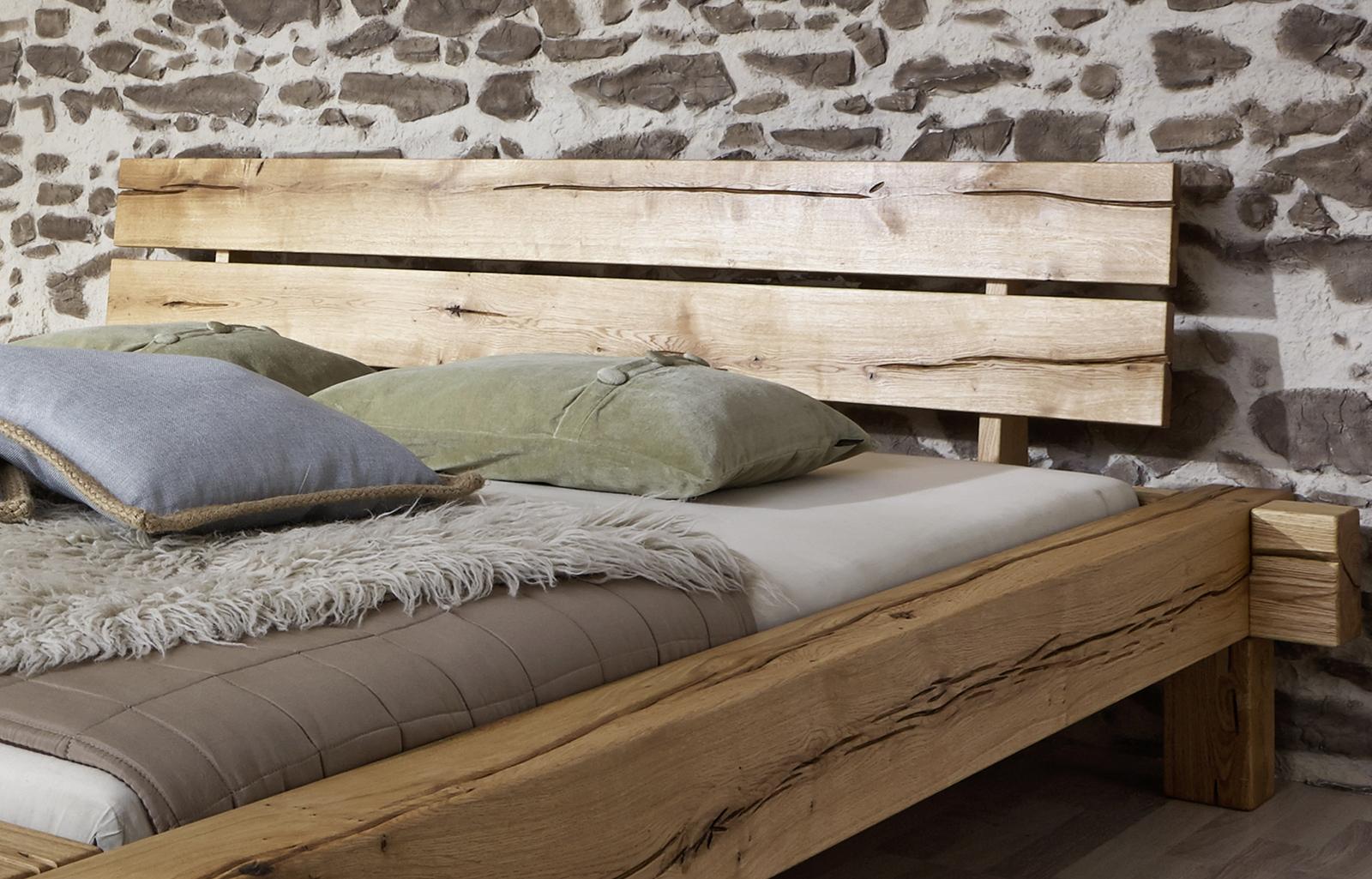 sam balkenbett jonas holzbett 180 x 200 cm g nstig. Black Bedroom Furniture Sets. Home Design Ideas