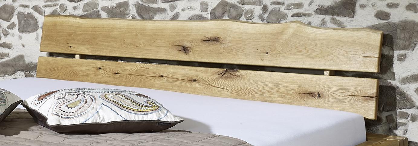 sam balkenbett josef mit schubk sten holzbett 180x200 cm. Black Bedroom Furniture Sets. Home Design Ideas