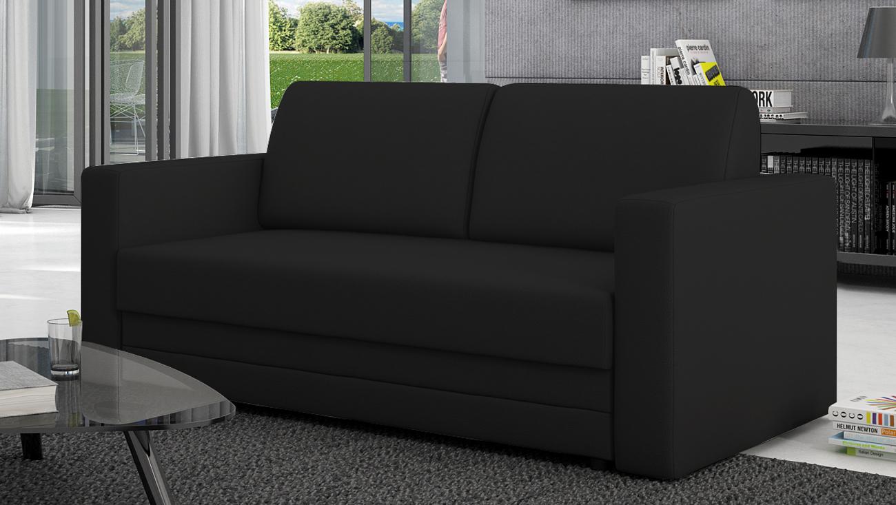 sam sofa schwarz schlafsofa carmelita 150 cm bestellware. Black Bedroom Furniture Sets. Home Design Ideas