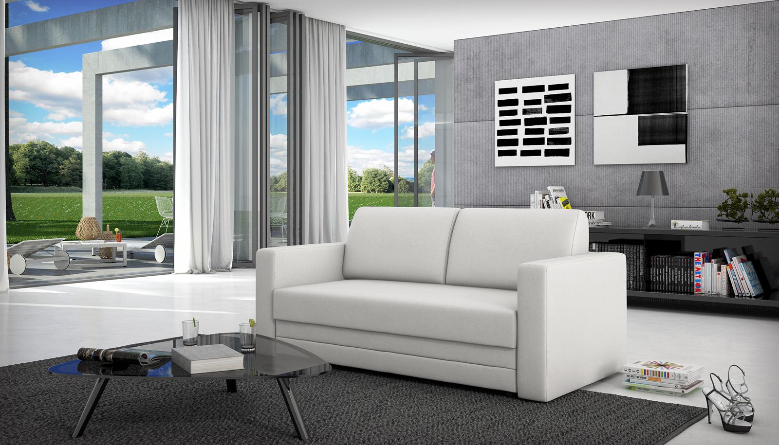 Sam schlafsofa wei sofa carmelita 170 cm bestellware for Schlafcouch auf rechnung