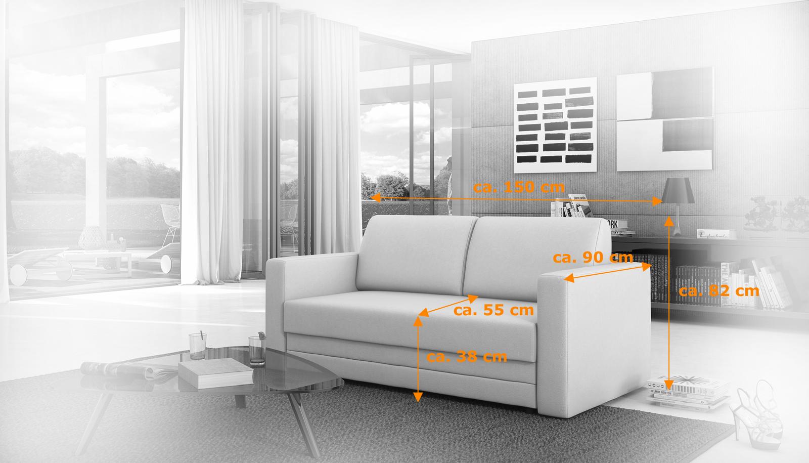 Sam schlafsofa wei sofa carmelita 150 cm bestellware for Schlafsofa 0 finanzierung