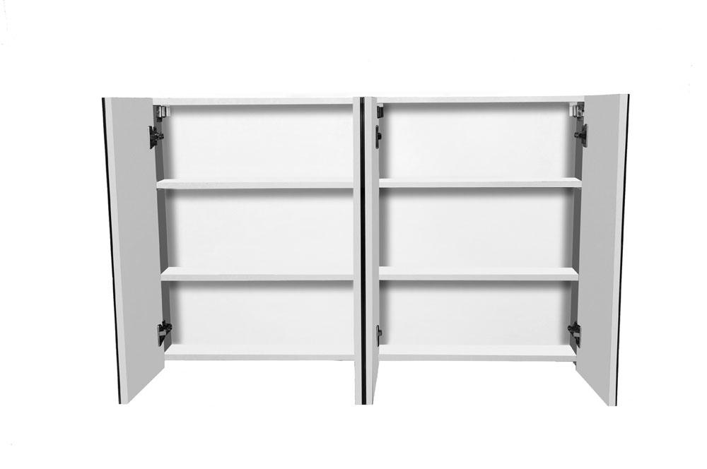 sam 4tlg badezimmer set spiegelschrank wei 120 cm verena demn chst. Black Bedroom Furniture Sets. Home Design Ideas
