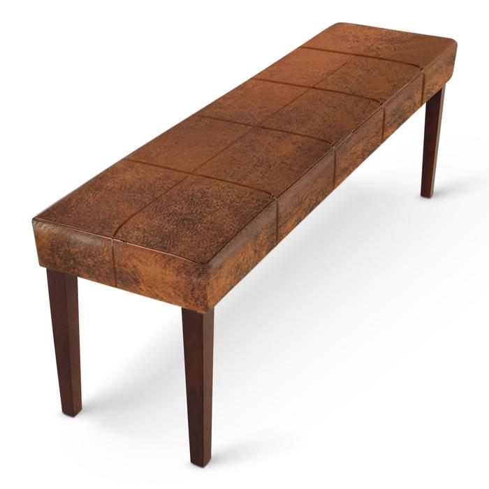 sam esszimmer sitzbank 110 cm wildlederoptik kolonial. Black Bedroom Furniture Sets. Home Design Ideas