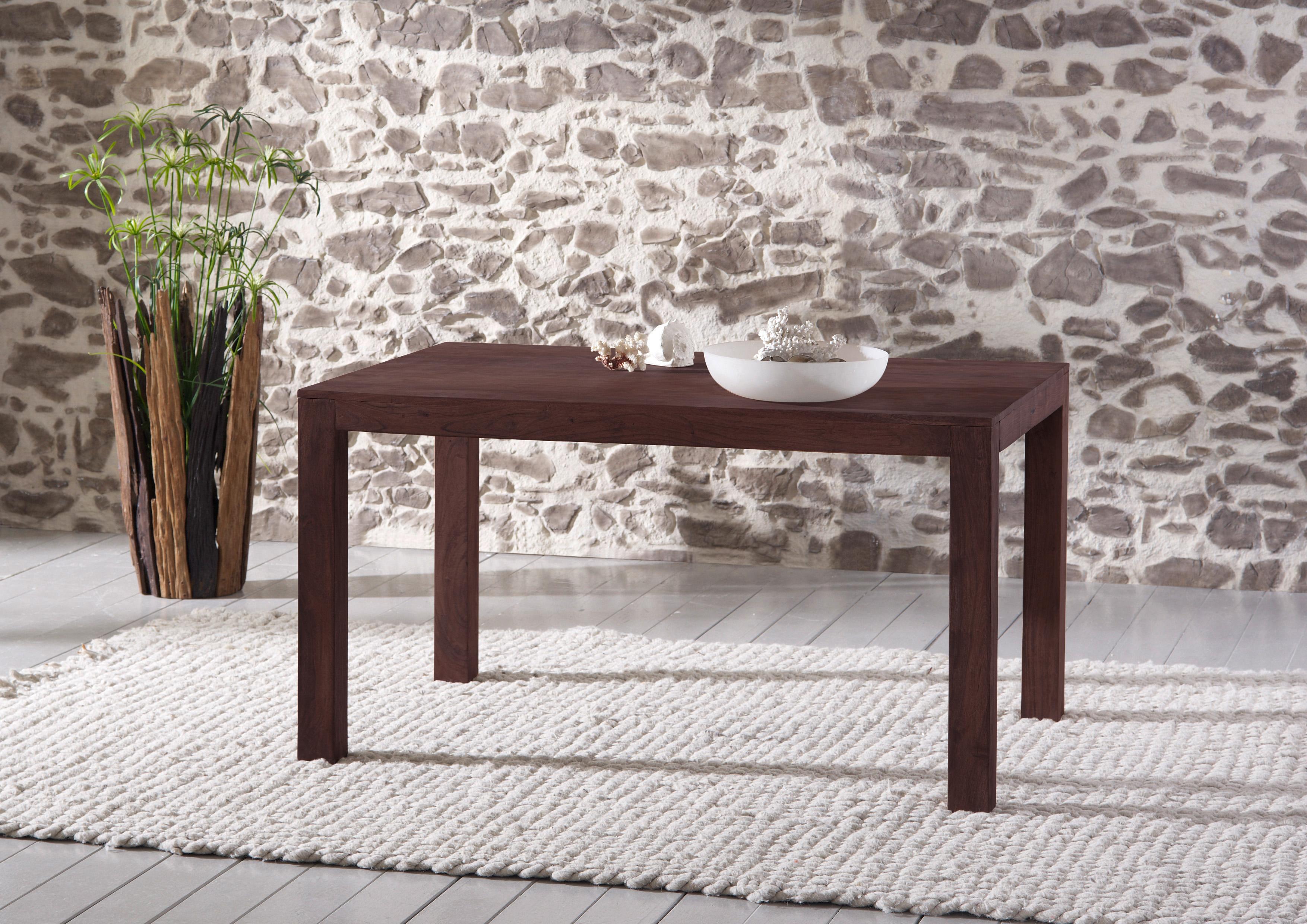sam esstisch timber 6609 akazie massiv tabak 180 x 76 x 90 cm auf lager. Black Bedroom Furniture Sets. Home Design Ideas
