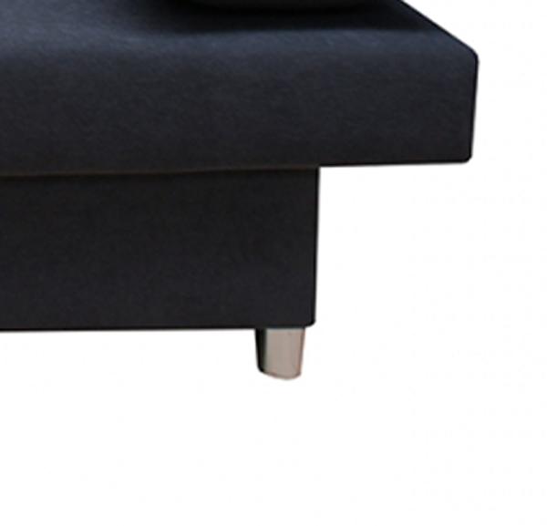Sam schlafsofa schwarz sofa dagobert 202 cm auf lager for Schlafcouch auf rechnung