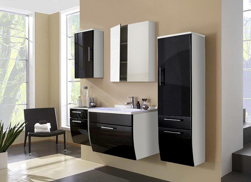 badezimmer set schwarz inspiration f r die gestaltung der besten r ume. Black Bedroom Furniture Sets. Home Design Ideas