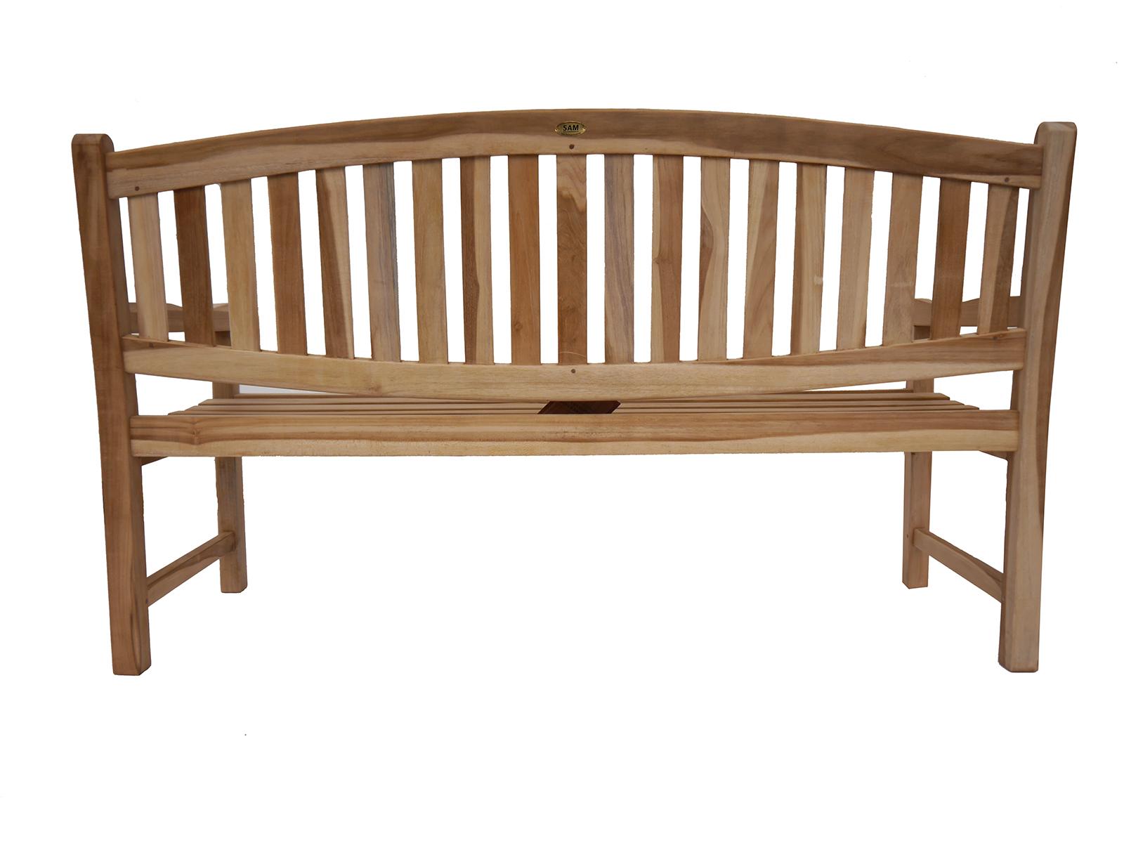 sam teak 3 sitzer gartenbank 160 cm oregon auf lager. Black Bedroom Furniture Sets. Home Design Ideas