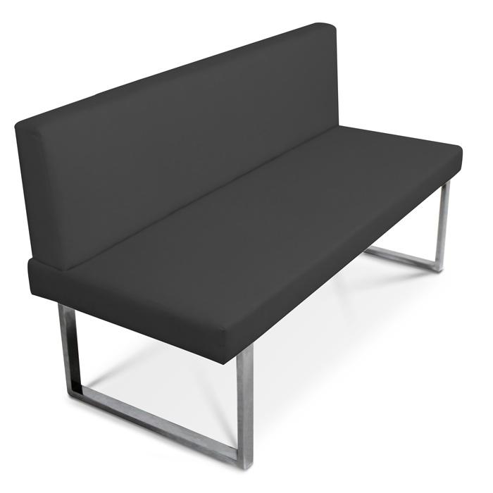 sam design sitzbank grau edelstahl 4 sitzer 180 cm boston lager. Black Bedroom Furniture Sets. Home Design Ideas
