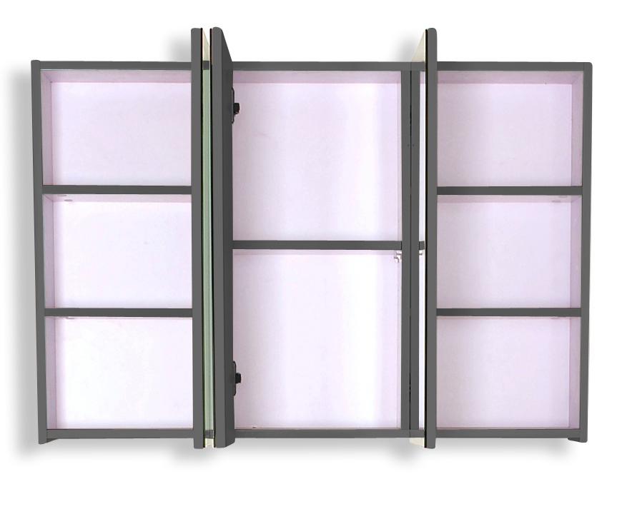 sam 5tlg badezimmer set hochglanz grau 100cm genf auf lager. Black Bedroom Furniture Sets. Home Design Ideas