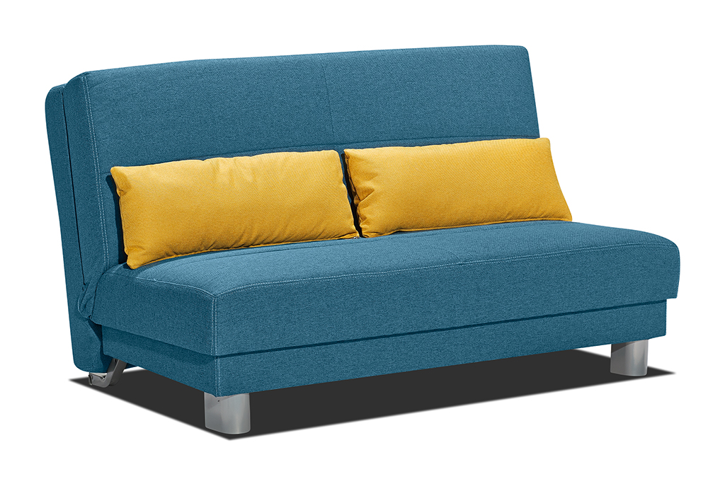 Sam schlafsofa blau sofa enzo 140 cm auf lager for Schlafcouch auf rechnung