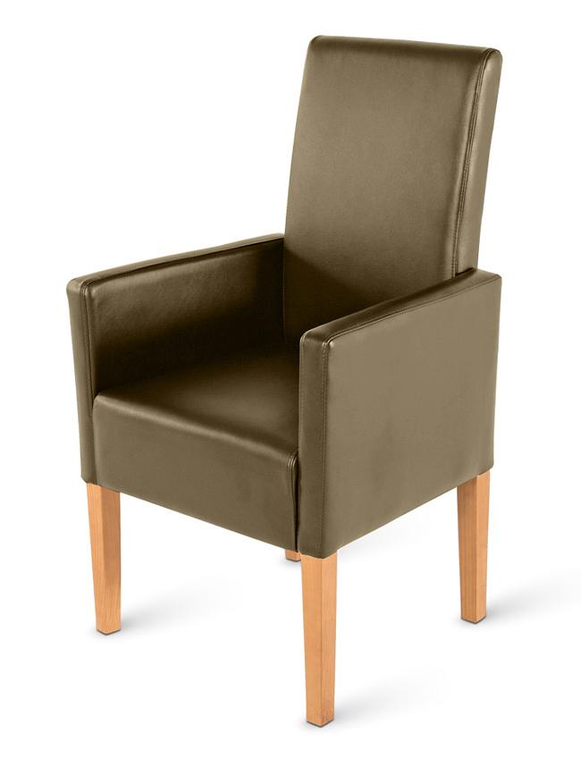 sam armlehnstuhl tomi recyceltes leder muddy buche. Black Bedroom Furniture Sets. Home Design Ideas