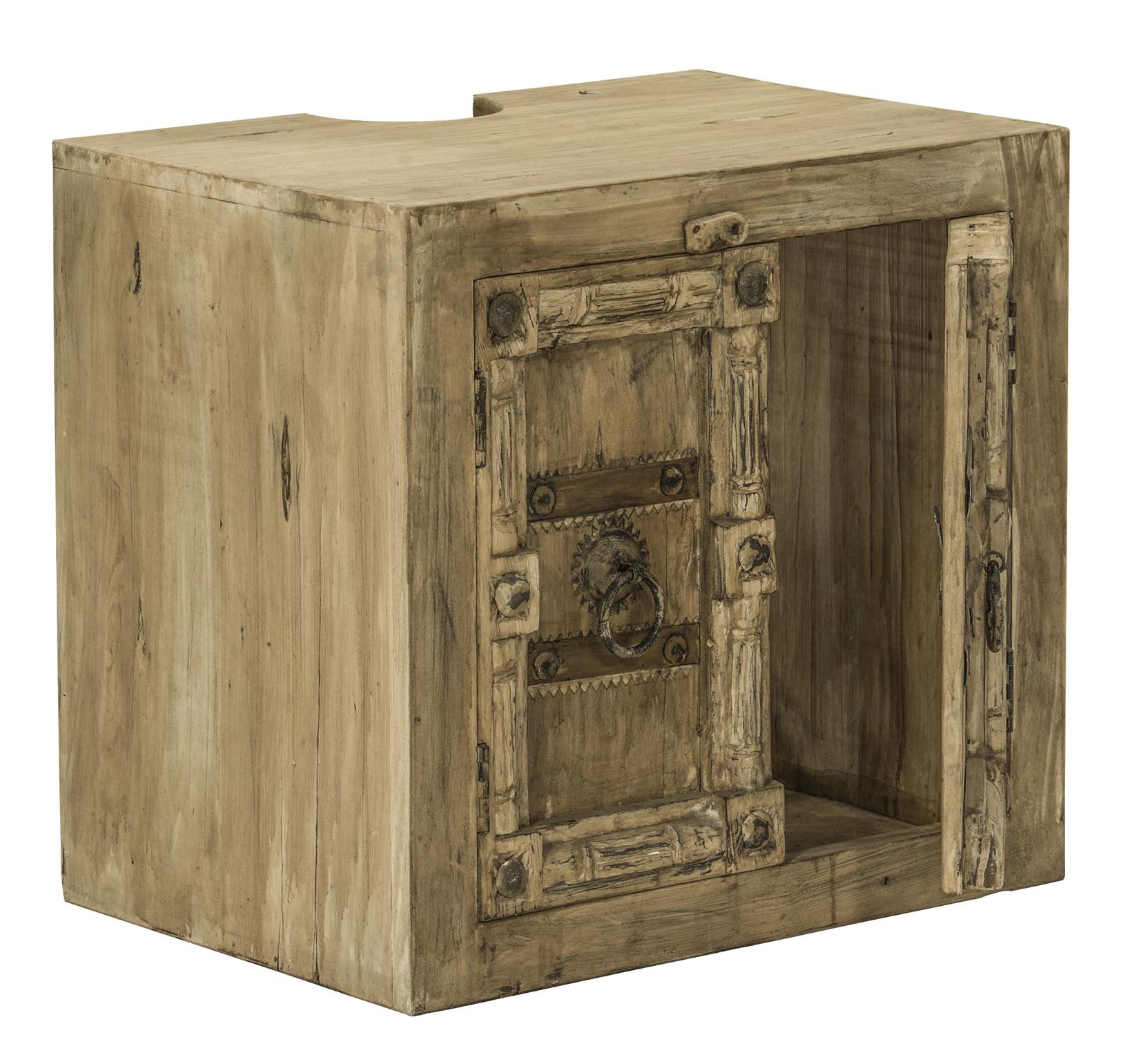 sam bad set 5tlg vintage holz used antik jaipur. Black Bedroom Furniture Sets. Home Design Ideas
