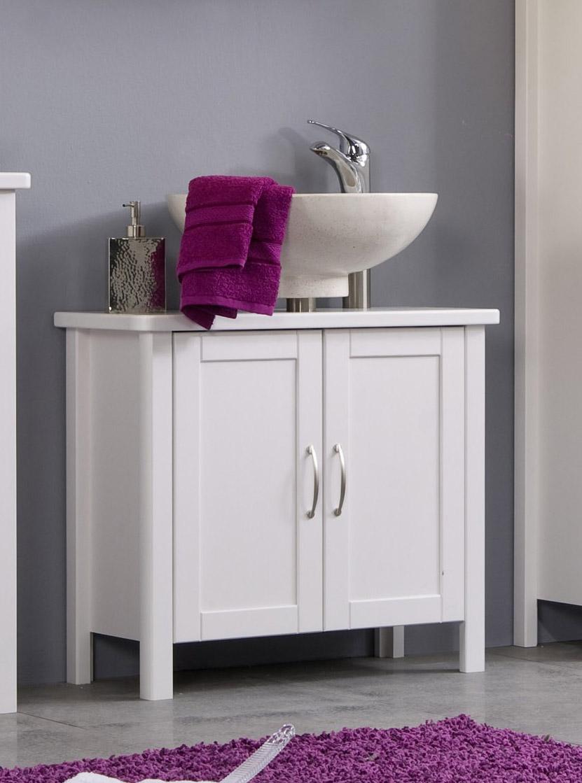 sam bad set wei massiv kiefer gewachst 5tlg venedig. Black Bedroom Furniture Sets. Home Design Ideas