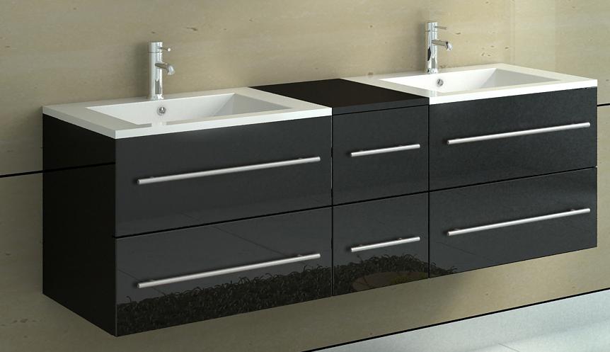 sam badm bel set barca neu 5tlg 150 cm spiegel schwarz demn chst. Black Bedroom Furniture Sets. Home Design Ideas