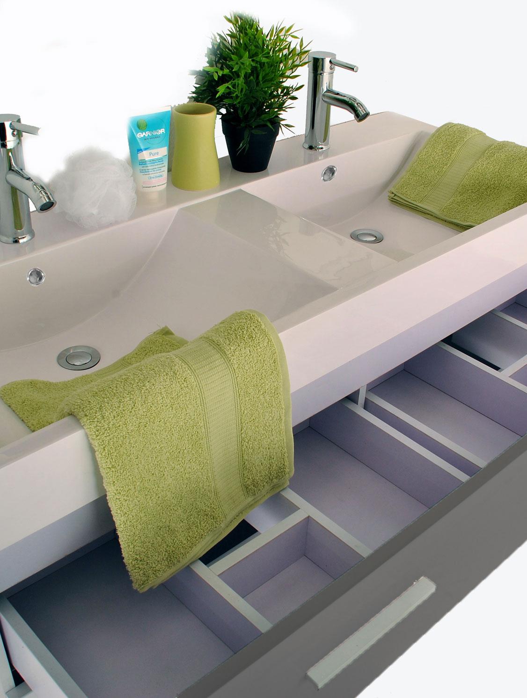 sam badm belset hamburg 3tlg hochglanz grau 120 cm. Black Bedroom Furniture Sets. Home Design Ideas