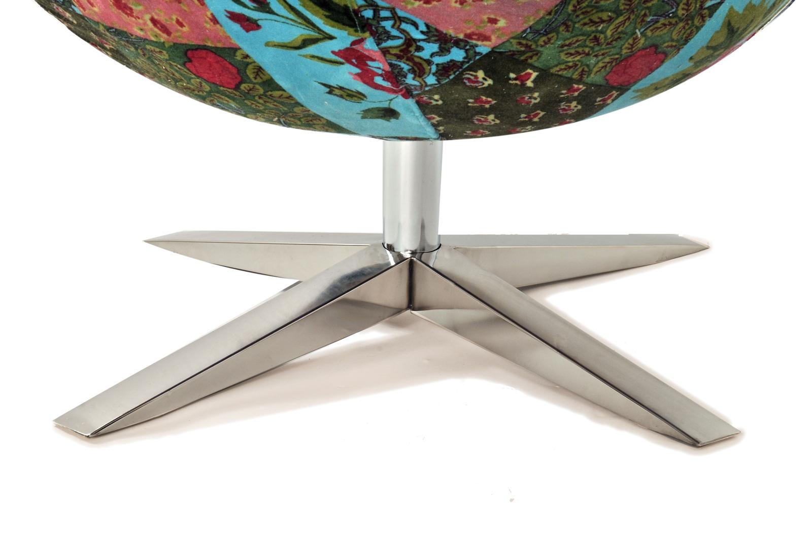 sam design armlehn stuhl in bunt muster 4620 v3. Black Bedroom Furniture Sets. Home Design Ideas