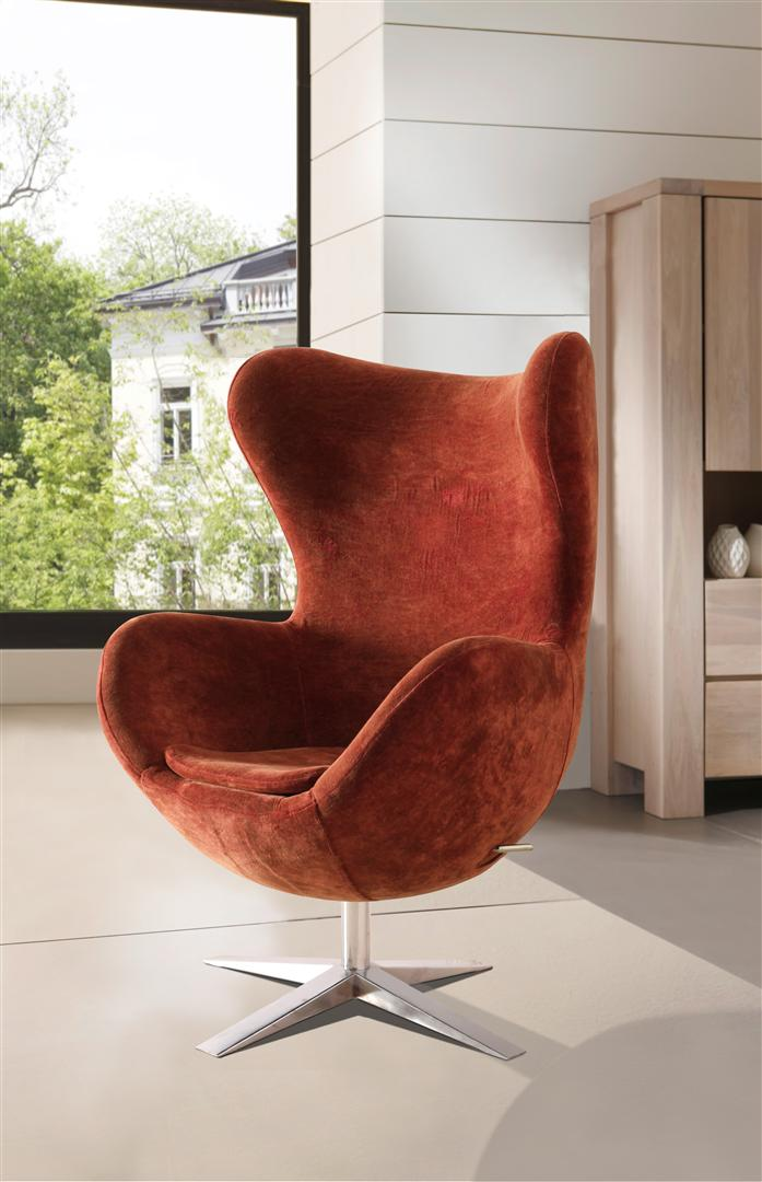 Sam design armlehn stuhl in rot 4620 r g nstig for Stuhl design rot