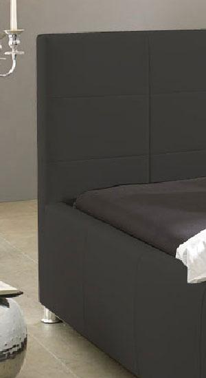 sam design bett 100 x 200 cm grau kira g nstig. Black Bedroom Furniture Sets. Home Design Ideas