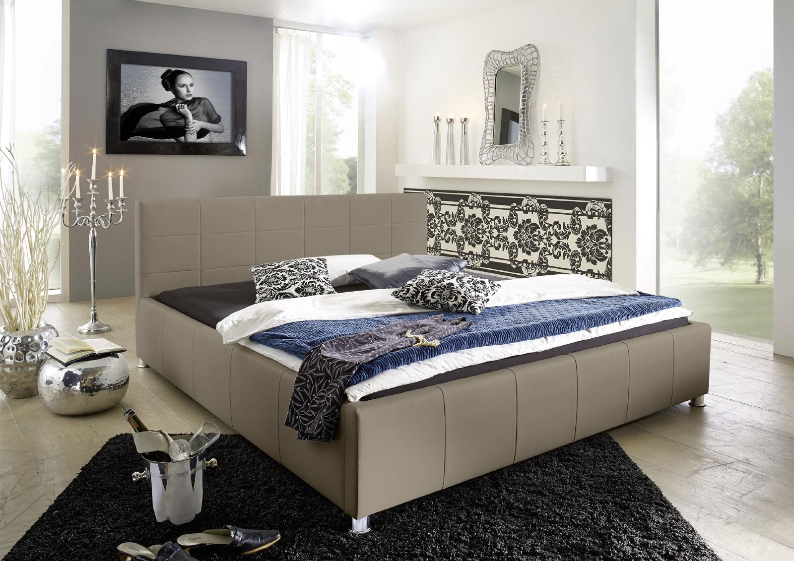 sam design bett 100 x 200 cm muddy kira g nstig. Black Bedroom Furniture Sets. Home Design Ideas