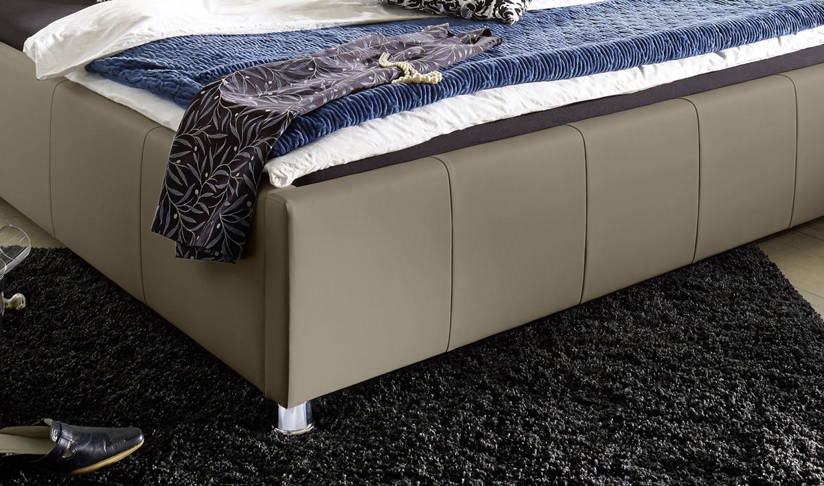 Sam® design bett 140 x 200 cm muddy kira günstig