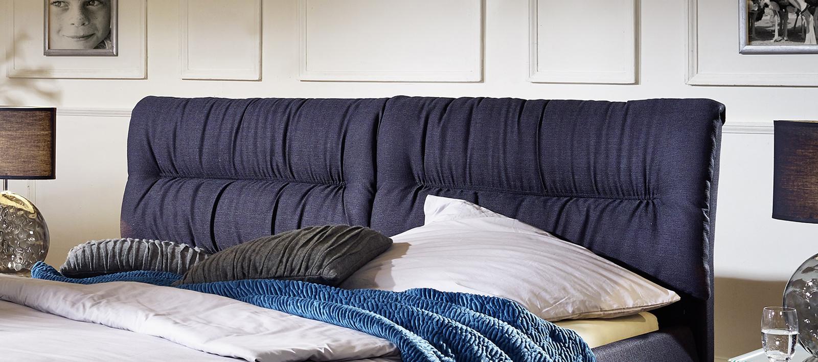 sam design bett 180 x 200 cm anthrazit mia g nstig. Black Bedroom Furniture Sets. Home Design Ideas