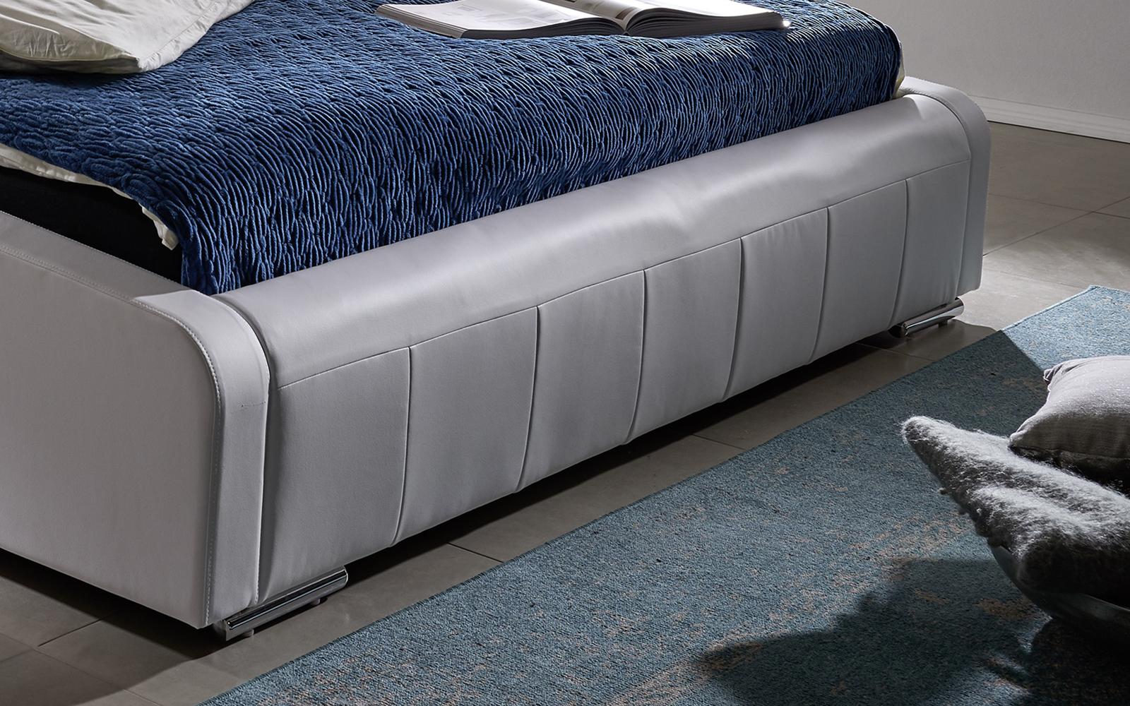 sam design bett 180 x 200 cm wei elena g nstig. Black Bedroom Furniture Sets. Home Design Ideas