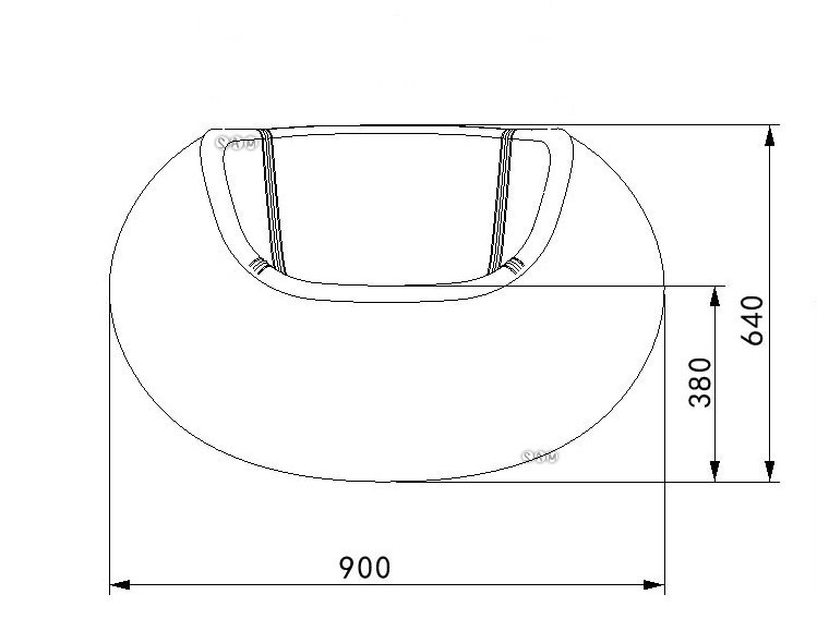 Loungesessel Tequila Weiß Schwarz ~  » Sessel » SAM® Design Loungesessel Progress in schwarz weiß