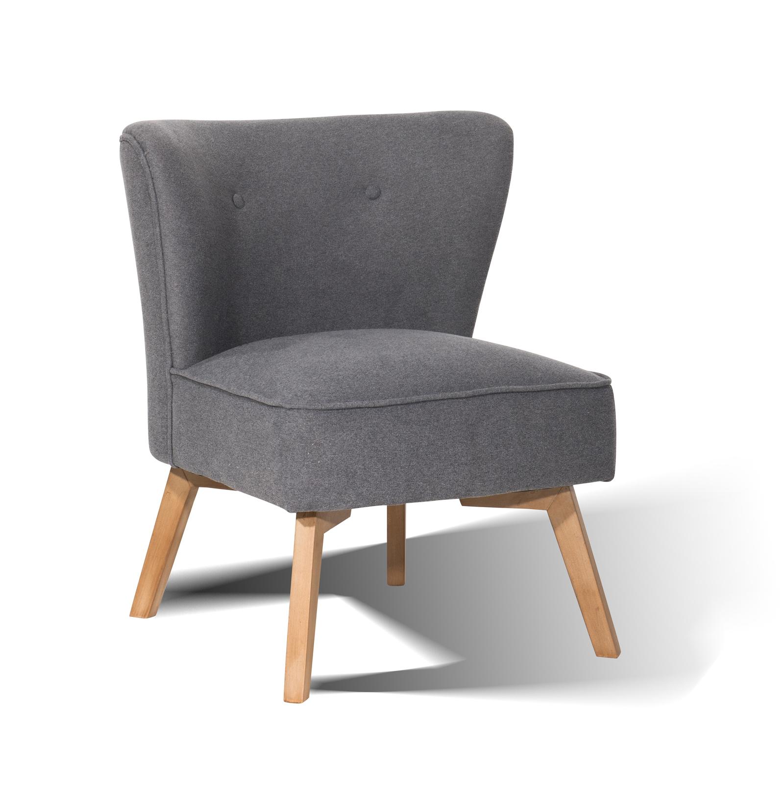 sam design ohrensessel 4736 21 grau hevea sit. Black Bedroom Furniture Sets. Home Design Ideas
