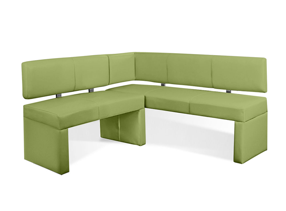 sam eckbank recyceltes leder lemon green cm x 130 cm lasesto. Black Bedroom Furniture Sets. Home Design Ideas