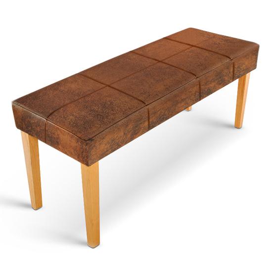 sam esszimmer sitzbank 110 cm wildlederoptik buche enzio. Black Bedroom Furniture Sets. Home Design Ideas