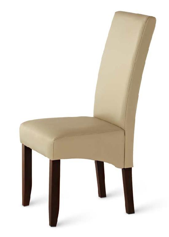 sam esszimmer stuhl lederimitat creme kolonial valentino 4723. Black Bedroom Furniture Sets. Home Design Ideas