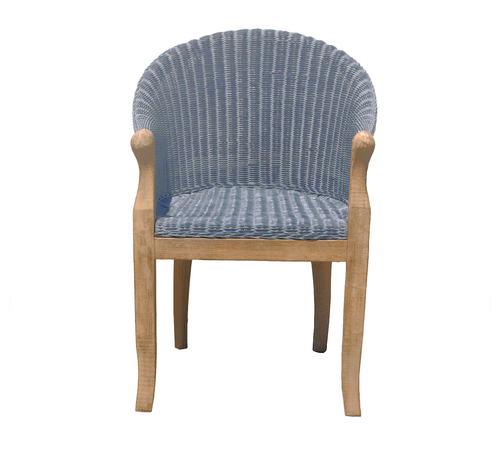 Sam esszimmer stuhl rattan grau cobra mit armlehnen - Stuhl mit armlehne grau ...