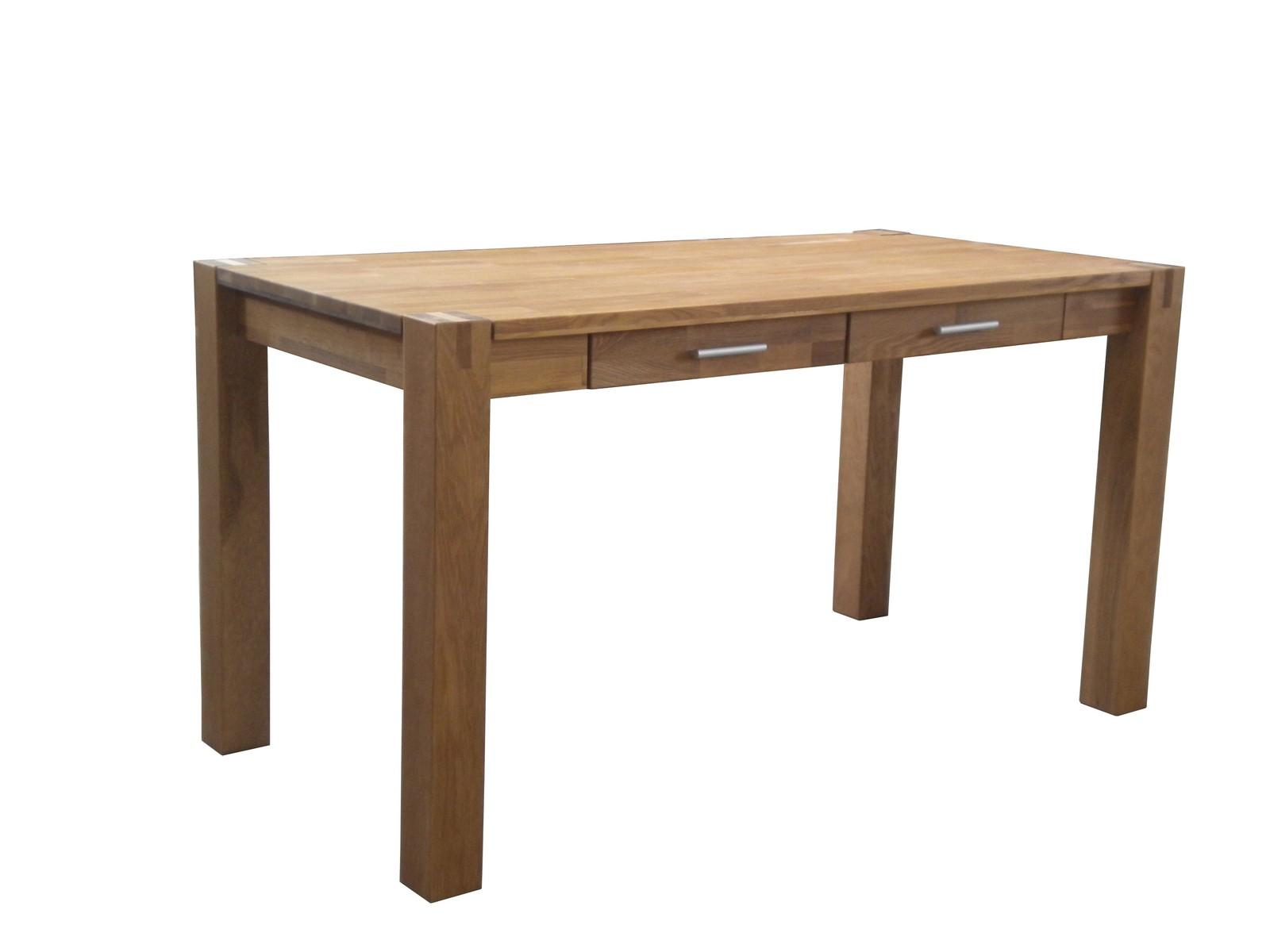 Sam esszimmer tisch sit eiche 140 x 70cm 2 schubladen for Tisch esszimmer