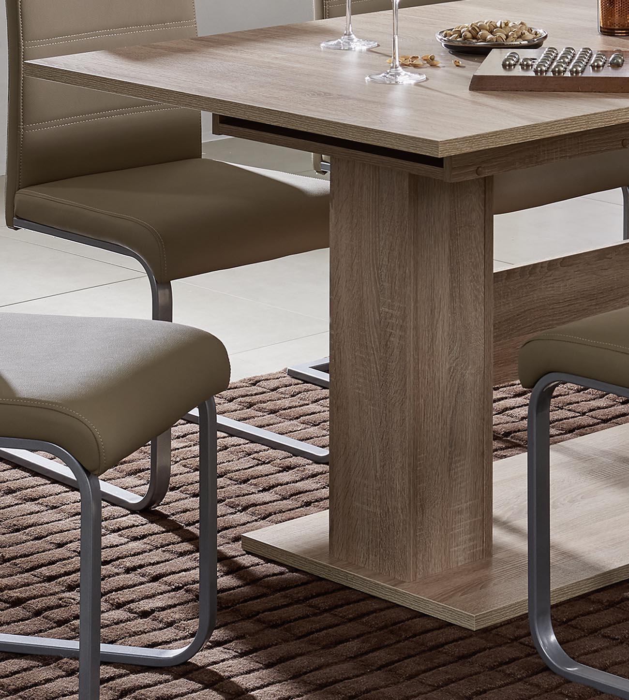 sam esszimmer tisch sonoma eiche ausziehtisch como. Black Bedroom Furniture Sets. Home Design Ideas