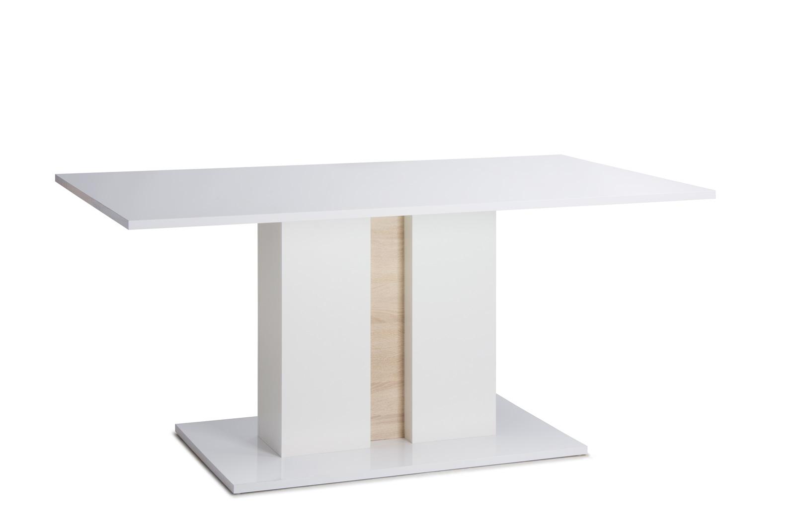 Sam esszimmertisch holz 160 x 90 cm glossy 1 for Esszimmertisch holz