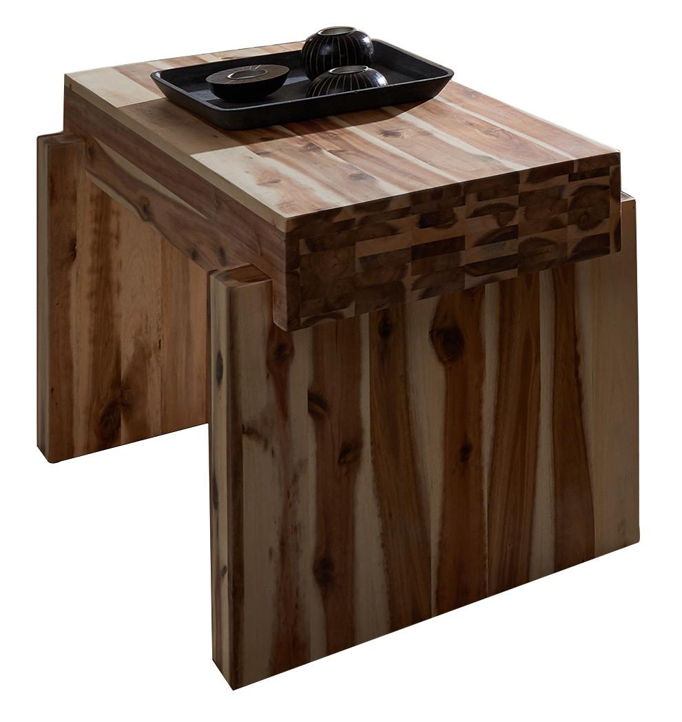 sam nachtkommode casanova akazie massiv g nstig. Black Bedroom Furniture Sets. Home Design Ideas